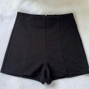 Black forever 21 high waisted shorts